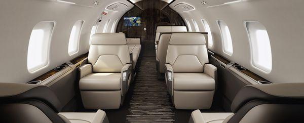 jet 75 interior