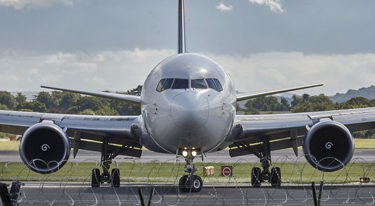 Charterflugzeug