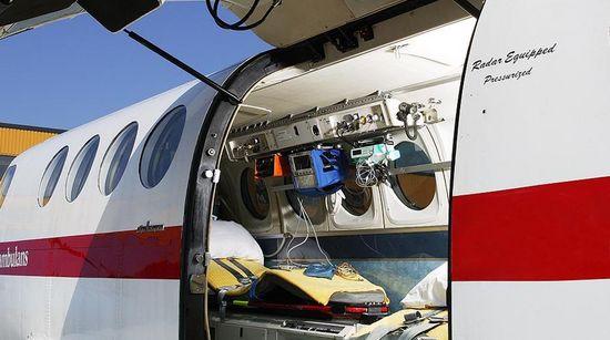 King Air 200 Ambulanz